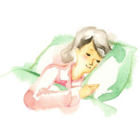 Innere Unruhe und Angstzustände können es schwer machen, einzuschlafen